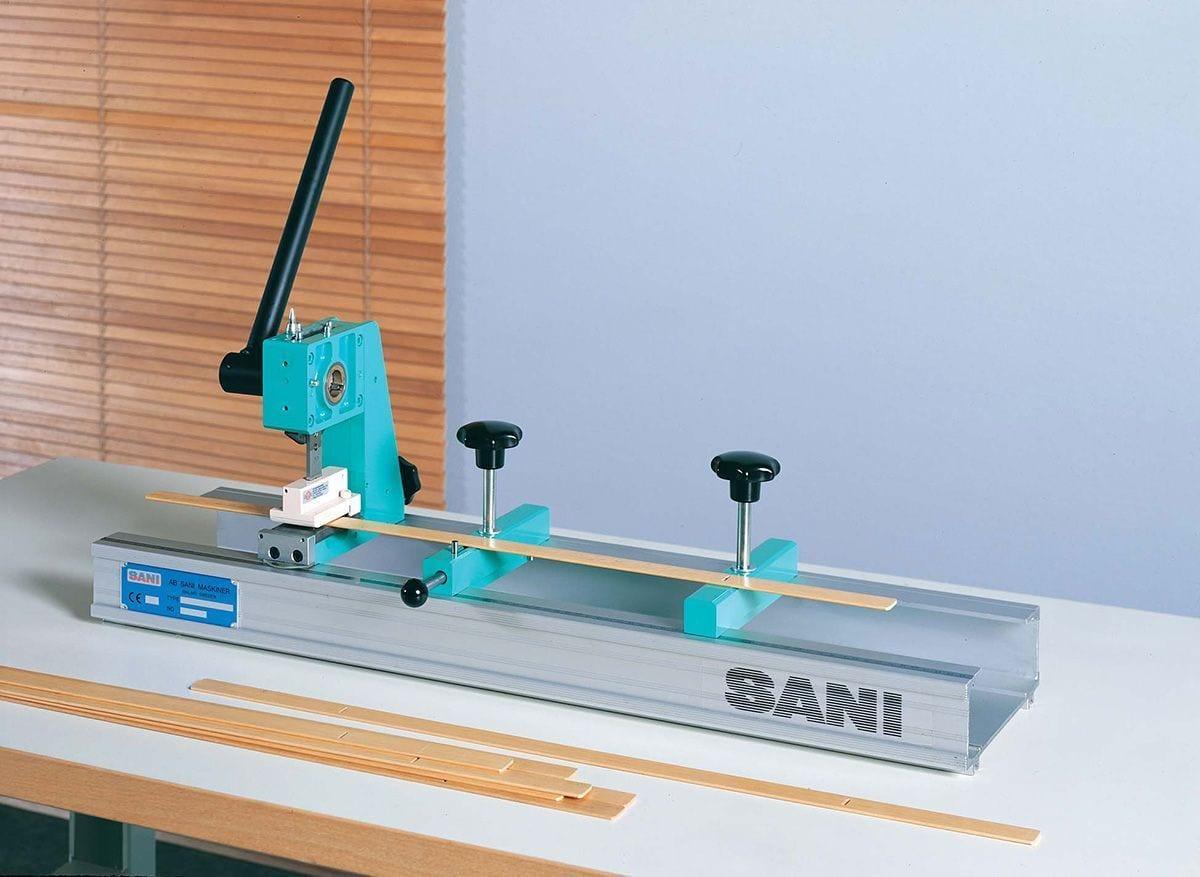 Sani 201w Manual Wood Fauxwood Punch Machine Sani Usa