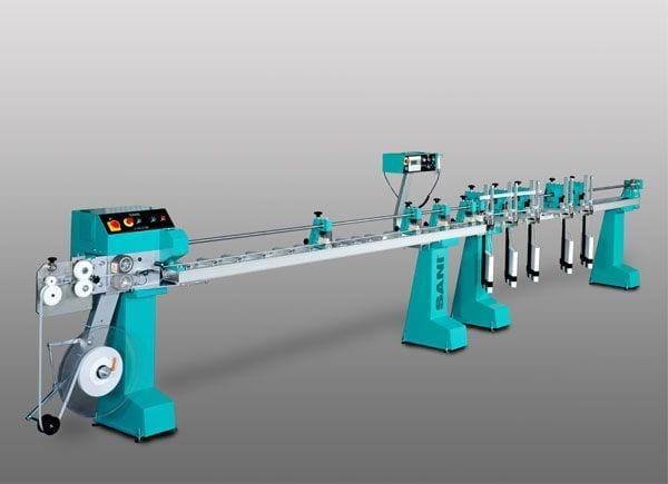 Sani Automatic Form Cut Punch Thread For Aluminum Slat Sani Usa Fabricating Solutions